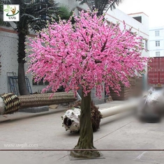 China UVG CHR026 Artificial plastic flower cherry blossoms for wedding decoration in China supplier