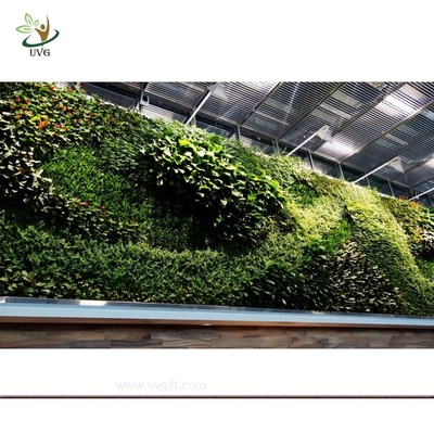China UVG GRW016 Artificial Living Wall Decorative Indoor Plants home garden decking supplier