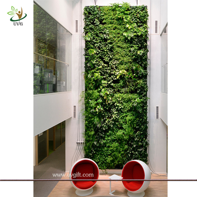 China UVG GRW031 Wholesale Fake Plant Panel for Green Wall Garden Landscaping Ornaments supplier