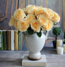 China UVG Hot New Products for 2016 Artificial Flower Rose Bud Wedding Decorating supplier