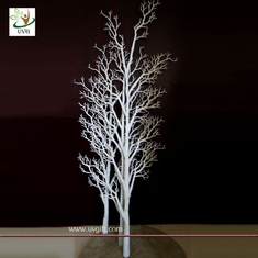 China UVG DTR12 White coor Dry tree branch decoration for window and wedding use supplier