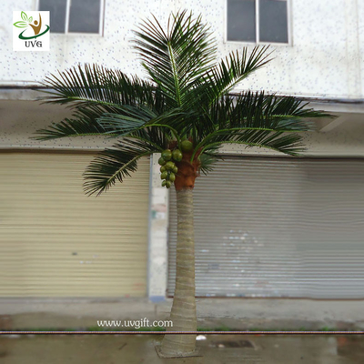 China UVG PTR002 16ft Artificial Palm Trees Outdoor with silk leaves for garden Landscaping supplier