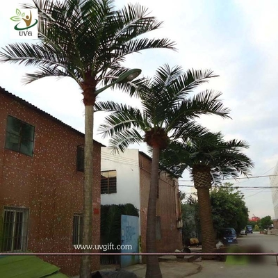 China UVG Wedding favors large outdoor artificial palm trees wholesale for garden decoration supplier