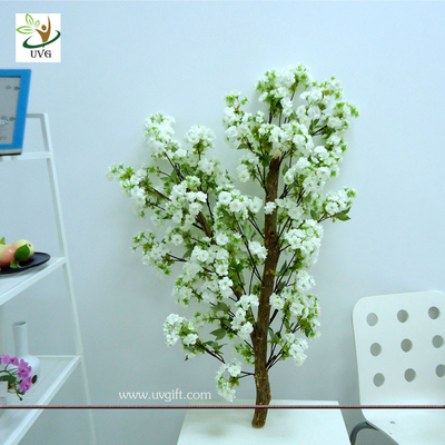 China UVG White decorative tree branch with artificial cherry flower for wedding decoration supplier