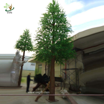China UVG Base station tree engineering green pine artificial tree tower for outdoor decoration supplier