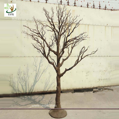 China UVG DTR15 Brown cheap artificial dry trees for wedding decoration table centerpiece supplier