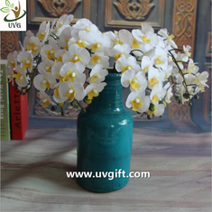 China UVG Europe style artificial latex orchids import china silk flowers for party decoration supplier