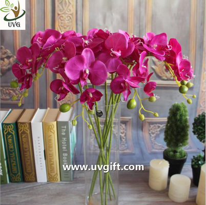 China UVG Silk blossom wholesale artificial orchid flowers for wedding decoration centerpieces supplier