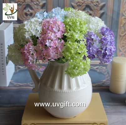 China UVG FHY63 making hydrangea flowers artificial for wedding decorating and partying supplier