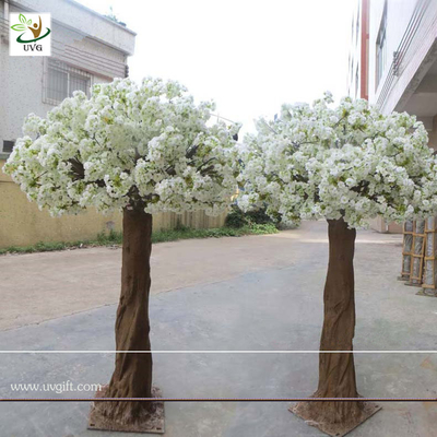 China UVG CHR06 High simulation white cherry blossom trees in artificial flowers for sale supplier