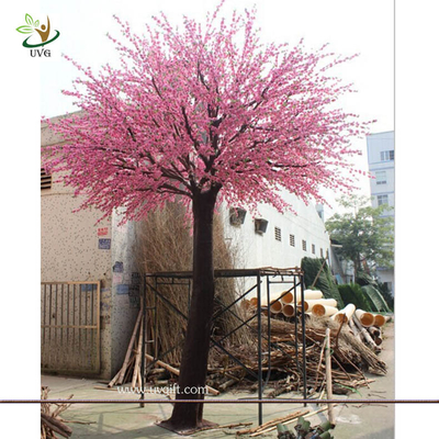 China UVG wedding planner in china pink faux trees in peach blossoms for wedding decoration supplier