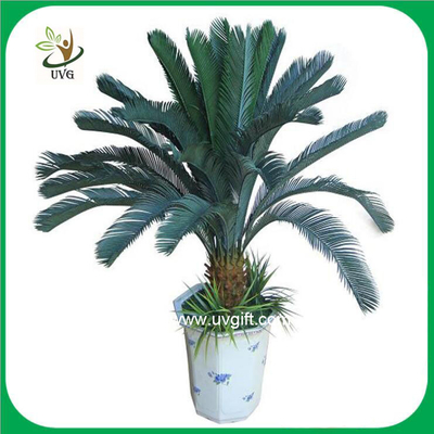 China UVG PLT07 bonsai fake plants with plastic cycas revoluta tree for office decoration supplier