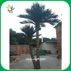 China UVG PTR022 high simulation artificial palm trees outdoor for home garden decoration supplier