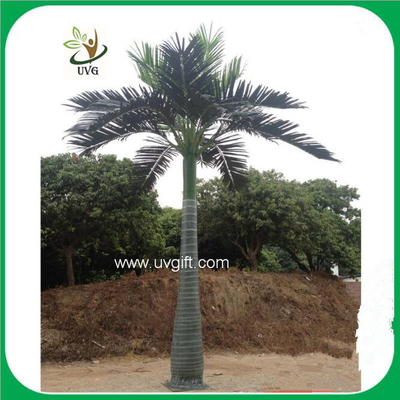 China UVG PTR024 outdoor artificial date palm tree with silk leaves for beach landscaping supplier