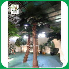 China UVG wholesale chinese artificial fan palm trees with lights for home garden decoration supplier