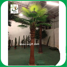 China UVG PTR037 3 meters tall indoor ornamental faux palm trees for garden landscaping supplier