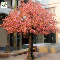 China UVG CHR007 Wedding Decoration Artificial Cherry Blossom Trees Pink color supplier
