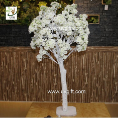 China UVG CHR122 Natural Wood Trunks Indoor Home Decorative Artificial Tree with Cherry Flower supplier