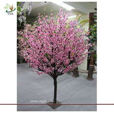 China UVG CHR075 Pink Peach Blossom Decorative Artificial Wooden Tree for Wedding and Party Lan supplier