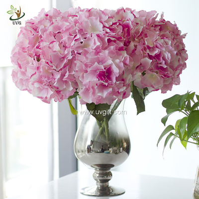 China UVG FHY113 Flower arrangements with artificial hydrangea florist for bride wedding bouquet supplier