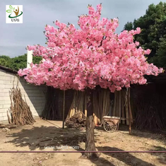 China UVG indoor decorations cherry blossom tree artificial in silk flower arrangements for wedding planners CHR155 supplier