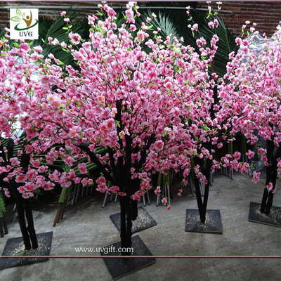 China UVG china wedding supplies party decoration pink artificial peach blossom trees for sale CHR152 supplier