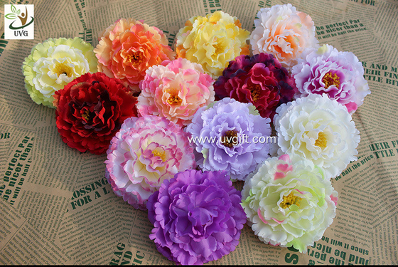 China UVG diy wedding decorations with colorful silk fabric penoy cheap artificial flowers FPN118 supplier