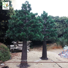 China UVG christmas trees decorating with artificial pine tree branches for garden ornament GRE066 supplier