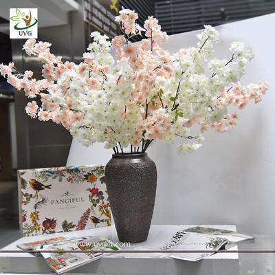 China UVG china supplier silk cherry blossom tree branch decor for wedding vase use CHR167 supplier