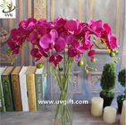 China UVG Silk blossom wholesale artificial orchid flowers for wedding decoration centerpieces factory