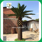 China UVG giant artificial coconut leaves outdoor decorative palm trees for park decoration factory