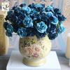 China UVG table centerpieces fake roses silk wedding bouquets for party table decoration FRS67 factory