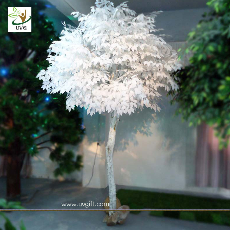 UVG GRE013 Artificial White tree for wedding decoration garden ...