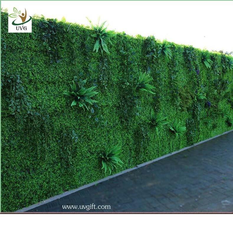 China UVG GRW019 Living Wall Planter Vertical Garden Arificial Green Plants  Walls Outdoor Use Supplier