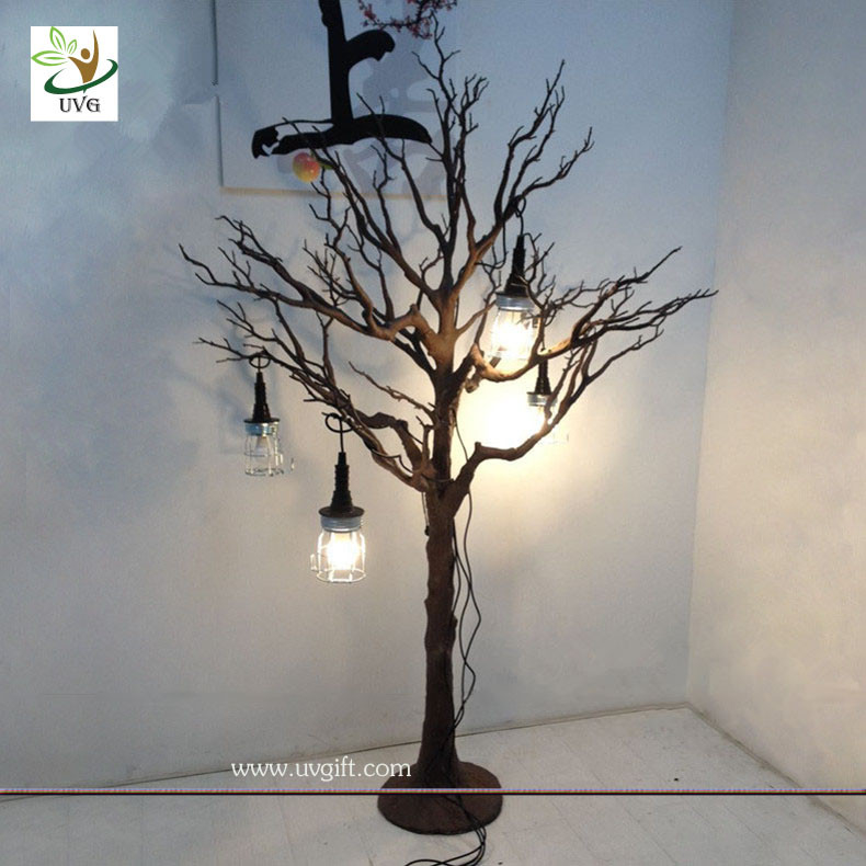 UVG DTR18 Plastic Artificial Tree Dry branch no leaf window show ...