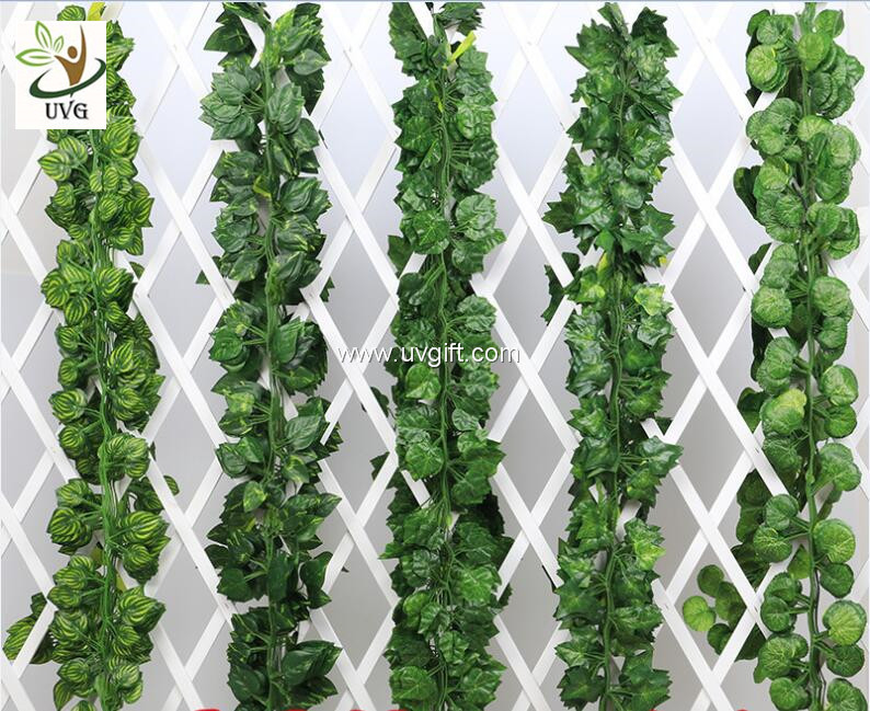 UVG decorating ideas hanging plastic ivy leaves artificial ... on Vine Decor Ideas  id=72310
