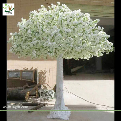 China UVG white artificial trees and flowers cherry blossom wedding tree for event planner CHR005 factory