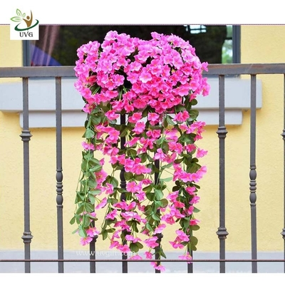 UVG Artificial Wisteria Flower Decoration of Houses Interior Wedding Centerpieces Favor