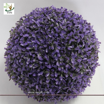 China UVG GRS10 Artificial Boxwood Ball Outdoor Green Plants for home garden landscaping factory