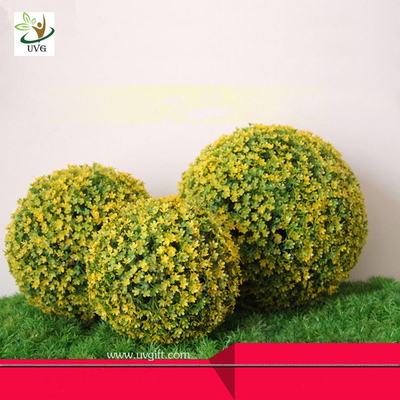 China UVG Living wedding decoration materials plastic fake boxwood balls for indoor landscaping factory