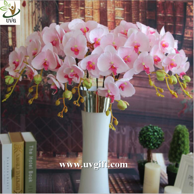 UVG China supplier make artificial flower arrangements in silk orchid flowers for sale