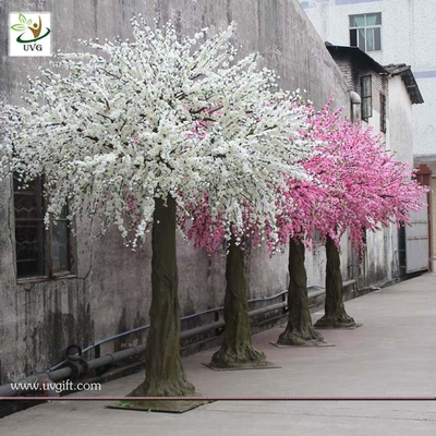 China UVG CHR026 how to make artificial cherry blossom trees for wedding decoration factory