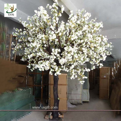 China UVG planning a wedding fake white cherry blossom tree for indoor decoration CHR071 factory