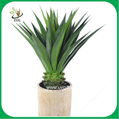 UVG PLT08 real touch artificial sisal hemp indoor plants for meeting room decoration
