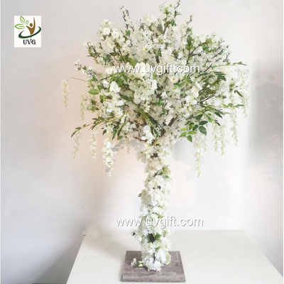 UVG 4ft Tall Wedding Centerpieces for Tables Wisteria and Cherry Blossom Artificial