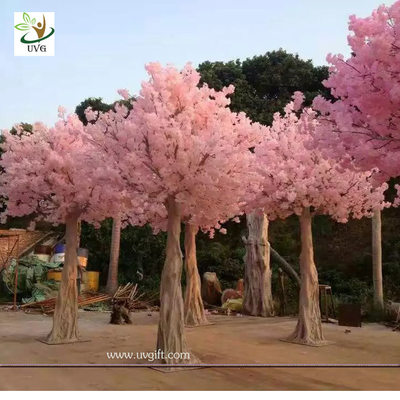 UVG CHR128 faux blossoms japanese cherry trees for wedding stage decoration various size