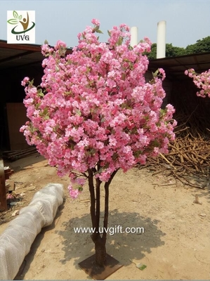 UVG miniature cherry blossom tree artificial trees indoor with pink flowers for weddings