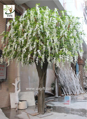 China UVG WIS012 artificial flower tree with fake wisteria blossoms for party background decoration factory