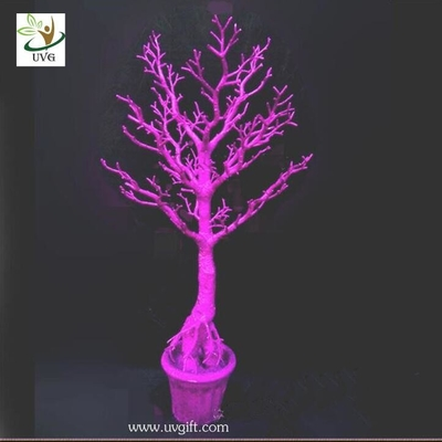 UVG cheap centerpiece ideas 3ft pink decorative dry branch artificial trees for sale DTR24