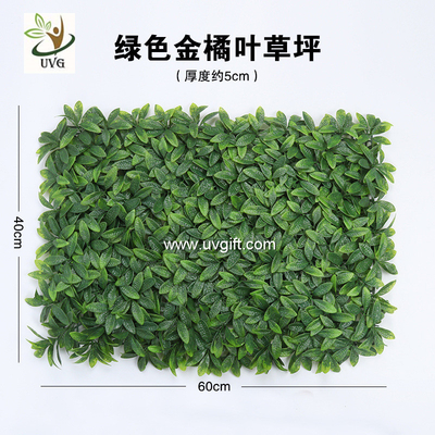 China UVG home garden plastic artificial grass turf for indoor wedding decoration GRS33 factory